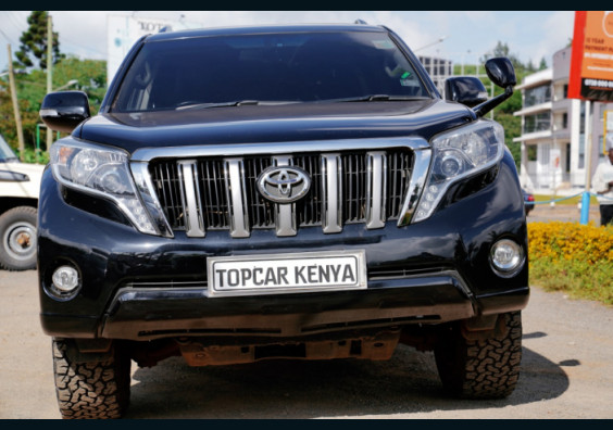 2012 Toyota Prado TZ for sale in Kenya