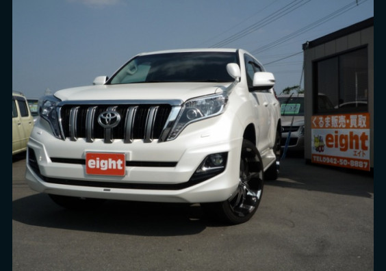 2014 Toyota LandCruiser Prado Ready for Import