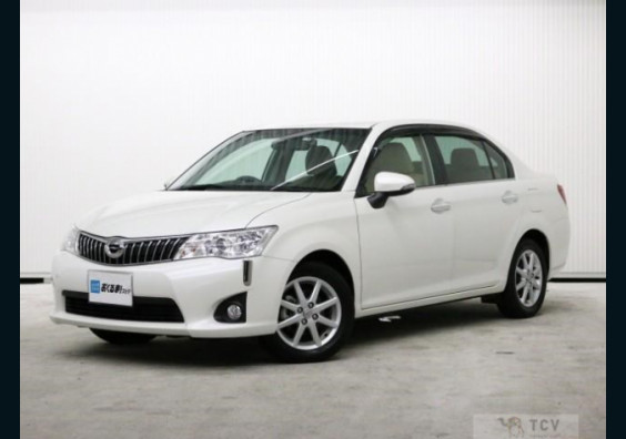 2013 Toyota Axio Ready for Import