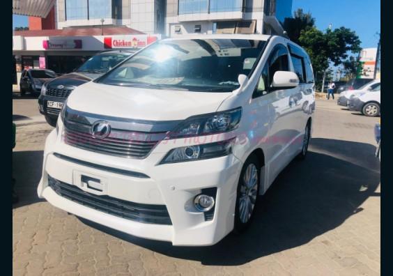 2012 Toyota Vellfire for sale in Kenya Mombasa