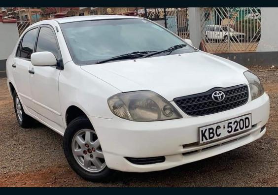 2001 Toyota NZE for sale in Nairobi Kenya