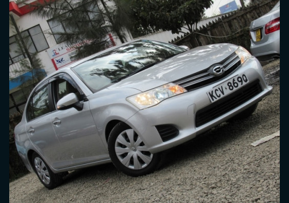 2012 Toyota Axio for sale in Kenya