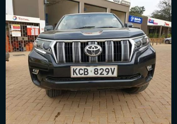 2010 Toyota Land Cruiser Prado LC5 for sale in Kenya