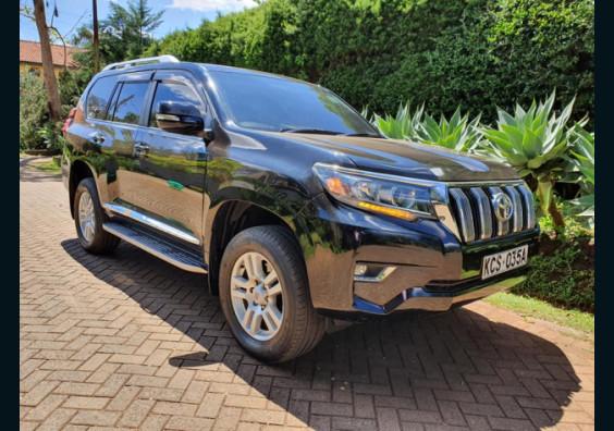 2012 Toyota Land Cruiser Prado TZ for sale in Nairobi Kenya