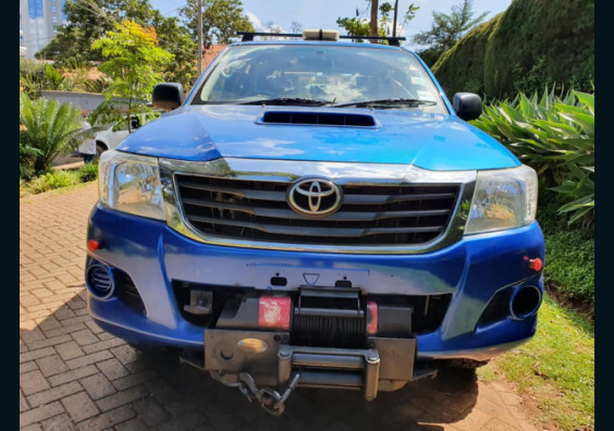 2012 Toyota Hilux Double Cabin for sale in Nairobi Kenya