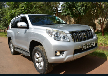 2012 TOYOTA LANDCRUISER PRADO FOR SALE IN KENYA