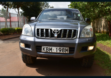 2006 TOYOTA LAND CRUISER PRADO FOR SALE IN KENYA