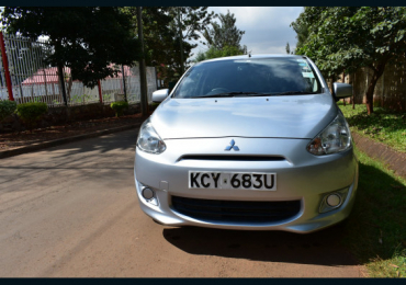 2013 MITSUBISHI MIRAGE FOR SALE IN KENYA