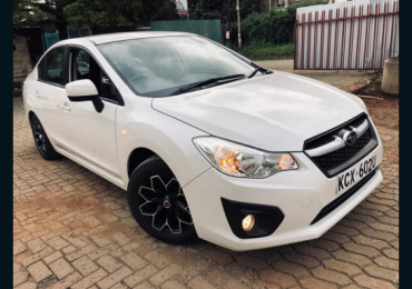 2012 SUBARU IMPREZA G4 FOR SALE IN KENYA