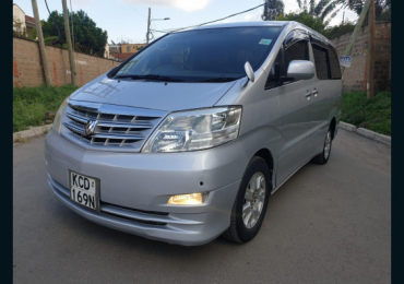 2008 TOYOTA ALPHARD FOR SALE IN KENYA