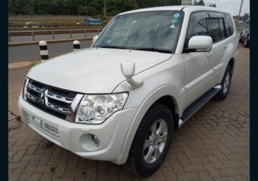 2013 MITSUBISHI PAJERO FOR SALE IN KENYA