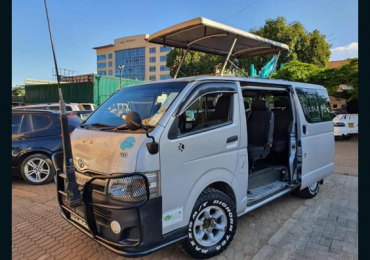 2012 TOYOTA HIACE FOR SALE IN KENYA NAIROBI