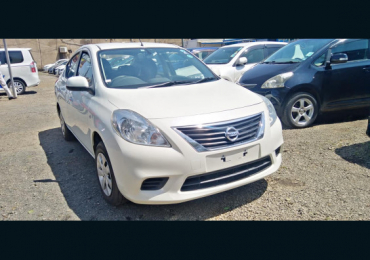2013 NISSAN LATIO FOR SALE IN KENYA