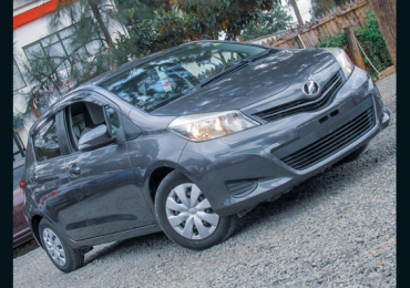 2013 TOYOTA VITZ FOR SALE IN KENYA NAIROBI