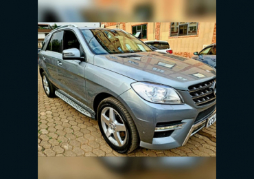 2013 MERCEDES BENZ ML NAIROBI