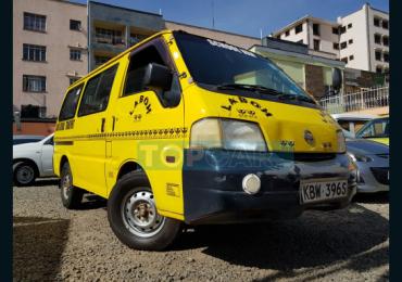2007 NISSAN VANETTE NAIROBI