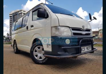 2012 TOYOTA HIACE NAIROBI